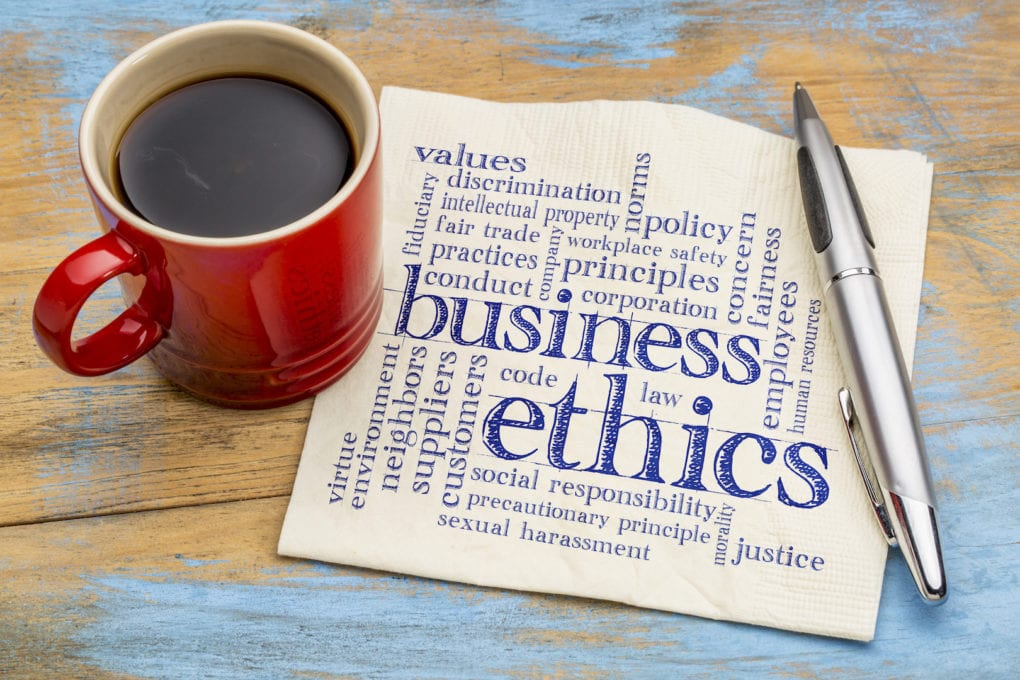 modern principles of business ethics Business 101: principles of management has been evaluated and recommended for 3 modern theory of outline the importance of business ethics in.